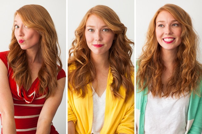 How to get beach waves hair with curling iron