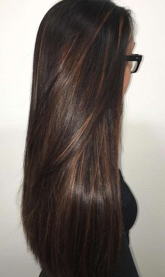 Mocha Hair Color With Lowlights Dark Brown Hairs Of Mocha